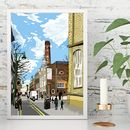 Truman Brewery, East London Illustration Print