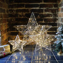 3D Wire LED Star Light