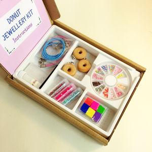 Donut Jewellery Craft Kit - gifts for children