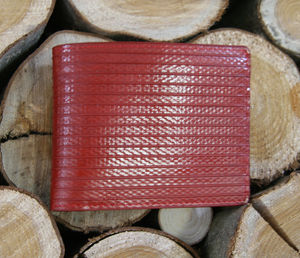Reclaimed Fire Hose Billfold Wallet - wallets
