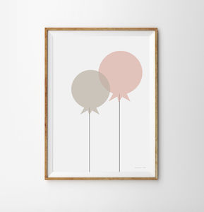 Balloon Children's Print