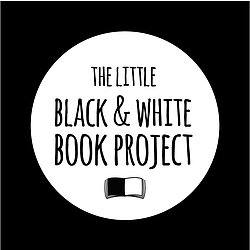 The Little Black & White Book Project Logo