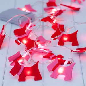 Child's Scottie Dog Fairy String Lights - fairy lights & string lights