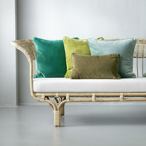 Velvet Cushions - decorative accessories