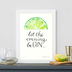 'Let The Evening Be Gin' Original Painting