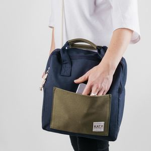 Canvas Backpack Or Messenger Bag - men's accessories