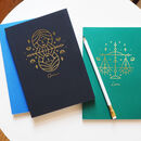 Personalised Zodiac Sign Illustration Notebook