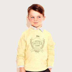 Cotton Jersey Jumper - babies' jumpers