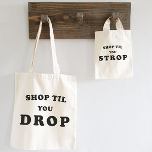 Shop Til You… Mummy And Me Tote Bag Gift Set