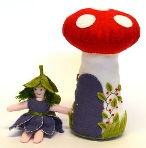 Flower Fairy Felt Craft Kit - sewing & knitting