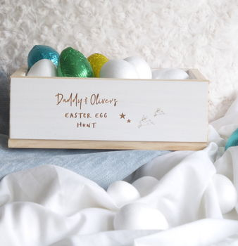 Daddy And Me Personalised Easter Egg Hunt Box