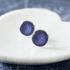 Cancer Constellation Zodiac Cufflinks