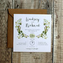 Botanic Herb Wedding Invitation