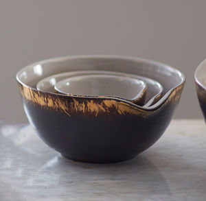 John Whaite Nest Of Three Stacked Bowls - new in home