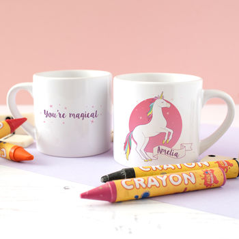 Children's Personalised Unicorn Mini Mug