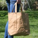 Brown Paper Bag Finish Tote Bag
