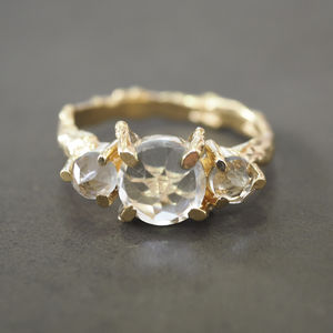 Tiny Twinkle In The Wild Prasiolite Ring - rings