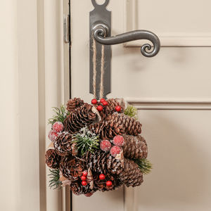 Handmade Natural Christmas Door Hanging Decoration - view all new