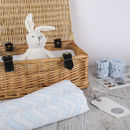 New Baby Boy Gift Personalised Hamper