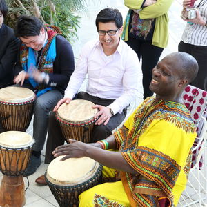 African Djembe Drumming One To One Lesson - gifts for him