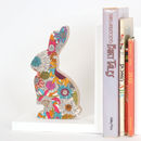 Liberty Print Fabric Bunny Bookend