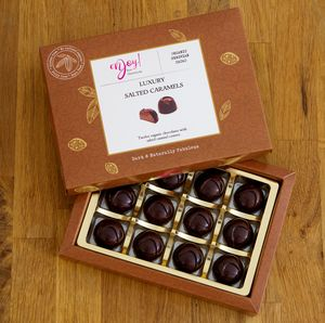 Luxury Salted Caramels - chocolates & confectionery