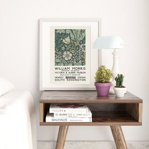 William Morris Vintage Exhibition Print