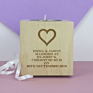 Wedding Tea Light Holder