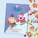 Peppa Pig: Christmas Personalised Book