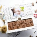 New Baby Chocolate Card