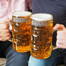 Personalised Father And Son Beer Stein Set