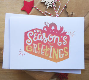 Sale! Season's Greetings Card - cards