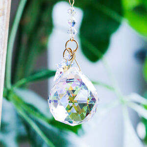 Crystal Drop And Stars Sun Catcher