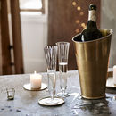 Lena Brass Champagne Cooler