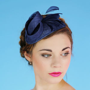 Art Deco Cocktail Hat 'Burgh'
