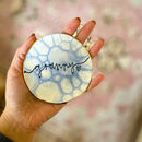 Personalised Marble Jewellery Dish