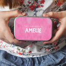 Personalised Messages Keepsake Tin