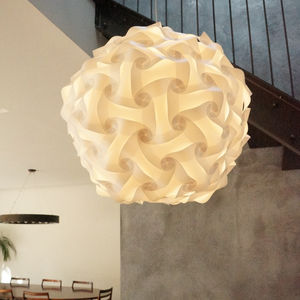 Elektra Large Globe Light Pendant Lampshade - office & study
