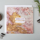 'Hello' Funny Long Distance Miss You Card