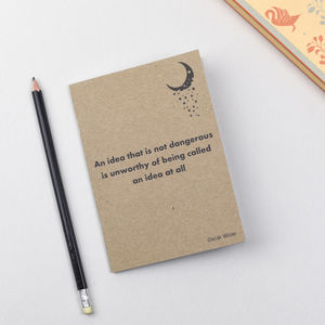Oscar Wilde Literary Notebook