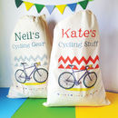 Personalised Cycling Storage Bag
