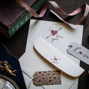 Love Stamps - wedding favours