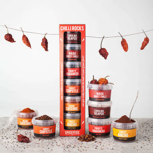 World's Hottest Rare Chilli Collection Gift Set