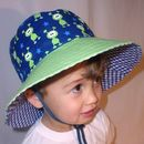 Boys Reversible Sun Hats