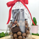Malteser Chocolate Head With Hat And Moustache