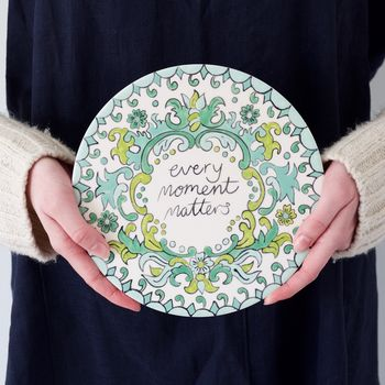 'Every Moment Matters' Ceramic Painting Set
