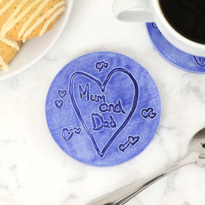 Personalised Child's Drawing Ceramic Coaster