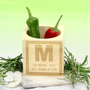 Personalised Growing Cube Block - home accessories