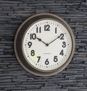 Broadway Wall Clock, Large - clocks
