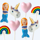 Mermaid And Unicorn Cake Pop Set